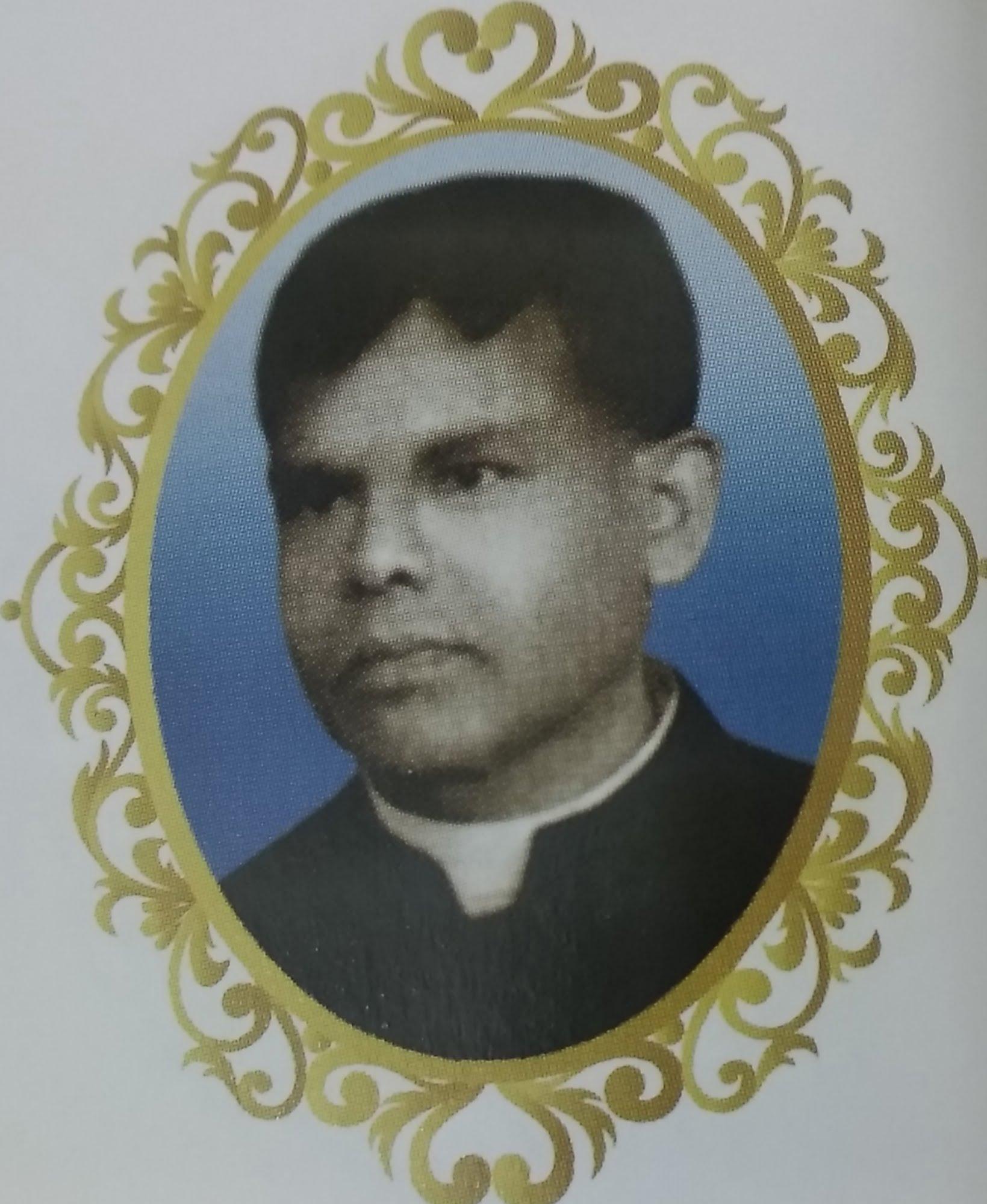 Fr. Seraphin Benedict Thannikott